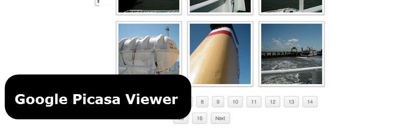 نمایش تصاویر پیکاسا در وردپرس با افزونه Google Picasa Viewer