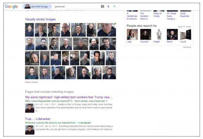 Google Face Search