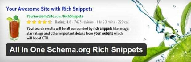 ستاره دار کردن مطالب وردپرس با افزونه All in One Schema Rich Snippets
