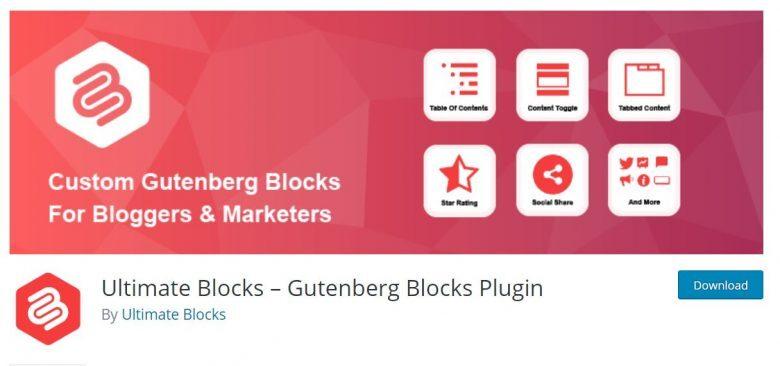 افزونه Ultimate Blocks